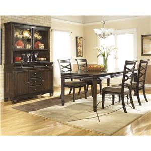Signature Design by Ashley Furniture Hayley Casual Dining Room Group