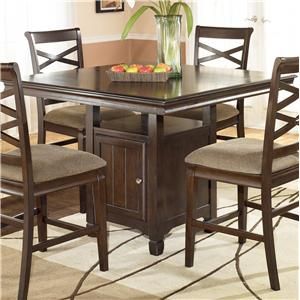Signature Design by Ashley Furniture Hayley Square Counter Height Table