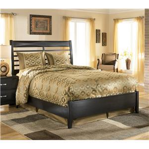 Ashley Furniture Kira King Panel Bed