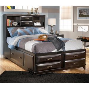 Ashley Furniture Kira Full Storage Bed