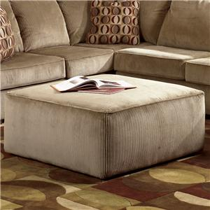 Signature Design by Ashley Furniture Vista - Cappuccino Ottoman