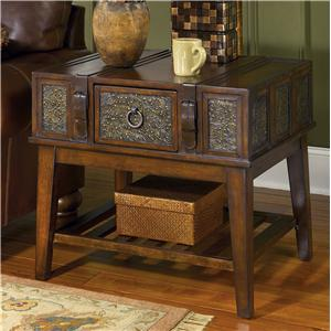 Signature Design by Ashley Furniture McKenna Rectangular End Table