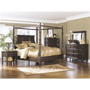 Millennium Key Town  Queen Bedroom Group