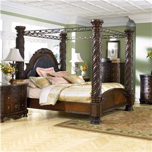 Millennium North Shore King Canopy Bed