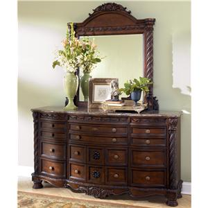 Millennium North Shore Dresser & Mirror