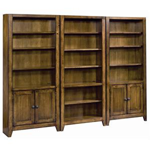 Aspenhome Cross Country Bookcase Wall