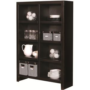 Aspenhome Essentials Lifestyle 58 By 40 Inch Cube Bookcase