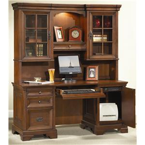 Aspenhome Richmond Credenza Desk and Hutch
