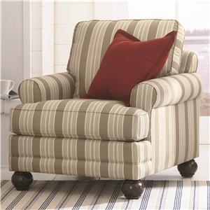Bassett Custom Upholstery - Loft <b>Custom</b> Chair