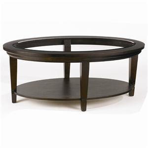 Bassett Easton Oval Cocktail Table