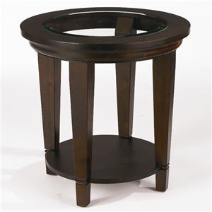 Bassett Easton Round Lamp Table
