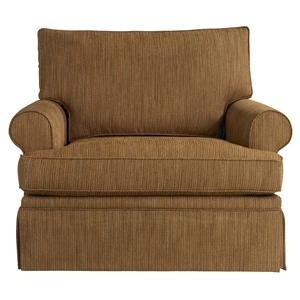 Bassett Custom Upholstery - Townhouse <b>Custom</b> Chair and a Half