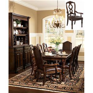 Bernhardt Normandie Manor 9Pc Dining Room