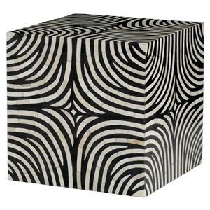 Bernhardt Interiors - Accents Zebra Cube