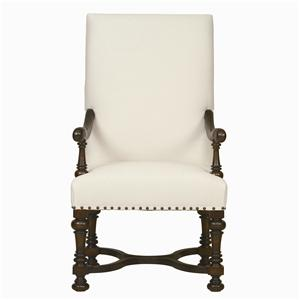 Bernhardt Interiors - Antwerp Exposed Wood Arm Chair