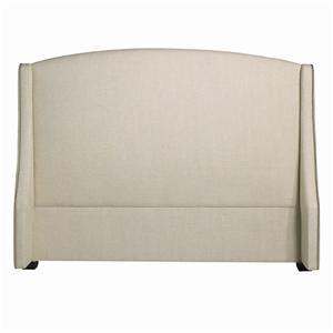 Bernhardt Interiors - Beds Queen Cooper Wing Headboard