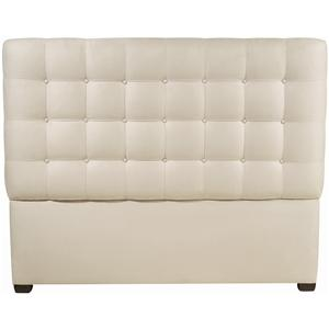 Bernhardt Interiors - Beds King Avery Button-Tufted Headboard
