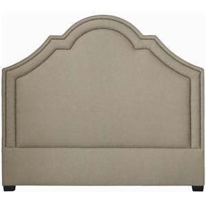 Bernhardt Interiors - Beds Queen Madison Crown Top Headboard