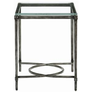 Bernhardt Interiors - Accents Palmer Metal End Table