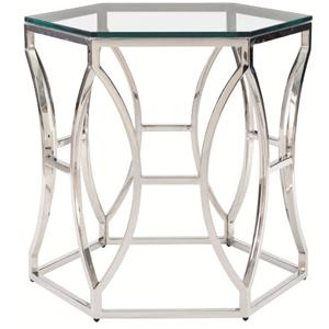 Bernhardt Interiors - Accents Argent Metal Side Table