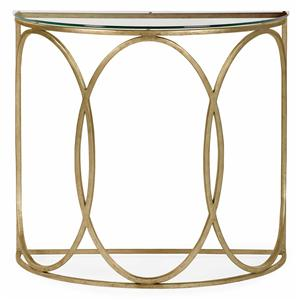 Bernhardt Interiors - Accents Beatrice Console Table with Glass Top