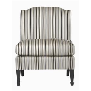 Bernhardt Interiors - Chairs Naomi Armless Chair