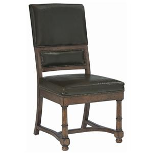 Bernhardt Vintage Patina Upholstered Side Chair