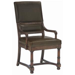 Bernhardt Vintage Patina Upholstered Arm Chair