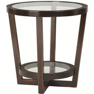 Bernhardt Zola Round End Table