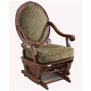 Best Home Furnishings Glider Rockers Brockly Glider Rocker