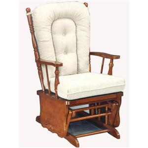 Best Home Furnishings Glider Rockers Knox Glider Rocker