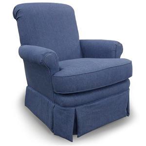 Best Home Furnishings Chairs - Swivel Glide Nava Swivel Rocker