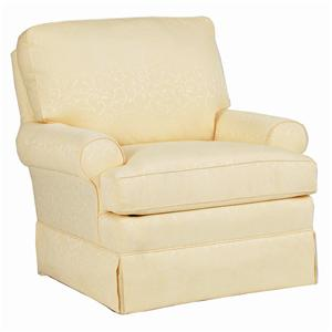 Best Home Furnishings Chairs - Swivel Glide Swivel Glider Chair with Welt Cord Trim