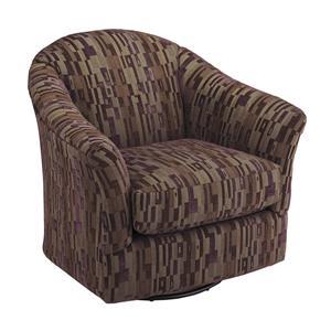 Best Home Furnishings Chairs - Swivel Glide Darby Swivel Glider