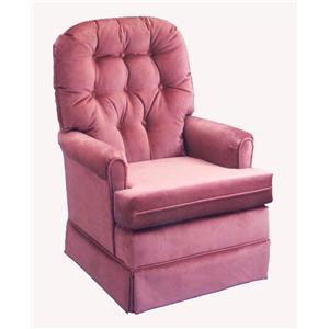 Best Home Furnishings Chairs - Swivel Glide Joplin Swivel Glide Chair