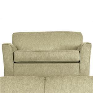 Best Home Furnishings Dinah CHAIR & A HALF W/TWIN AIR DREAM SLEEPER