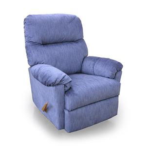 Best Home Furnishings Recliners - Medium Balmore Swivel Rocker Recliner