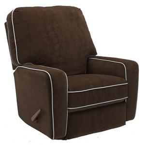Best Home Furnishings Recliners - Medium Bilana Swivel Rocker Recliner