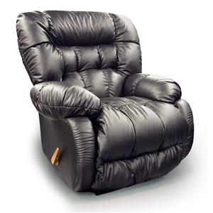 Best Home Furnishings Recliners - Medium Plusher Rocker Recliner