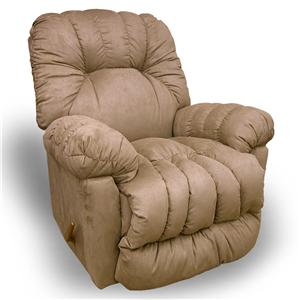 Best Home Furnishings Recliners - Medium Conen Swivel Rocker Recliner
