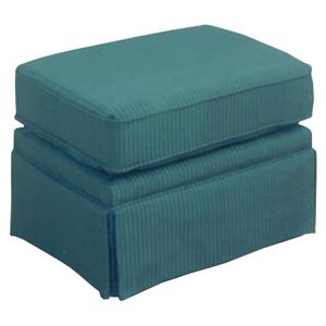 Best Home Furnishings Ottomans Ottoman without Welt  Cord Trim