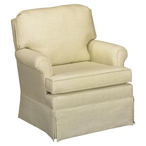 Best Home Furnishings Patoka Swivel Glider Club Chair