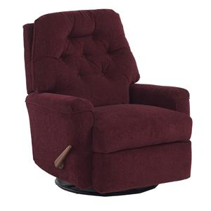 Best Home Furnishings Recliners - Petite Rocker Recliner