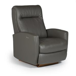 Best Home Furnishings Recliners - Petite Costilla Space Saver Recliner w/ Power