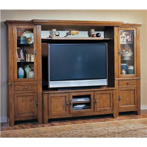 Broyhill Furniture Attic Heirlooms Entertainment Wall