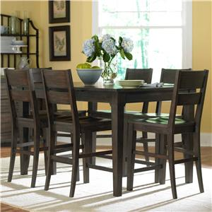 Broyhill Furniture Attic Retreat 7 Piece Pub Table and Barstool Set