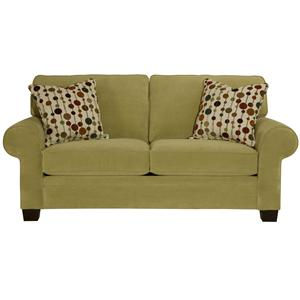 Broyhill Furniture Choices Upholstery <b>Customizable</b> 79 Inch Apartment Sofa