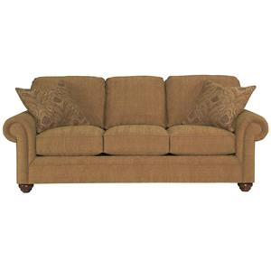 Broyhill Furniture Choices Upholstery <b>Customizable</b> 87 Inch Standard Sofa