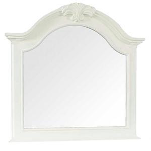 Broyhill Furniture Mirren Harbor Arched Dresser Mirror