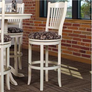 "Canadel Bar Stools Customizable 30"" Upholstered Swivel Stool"